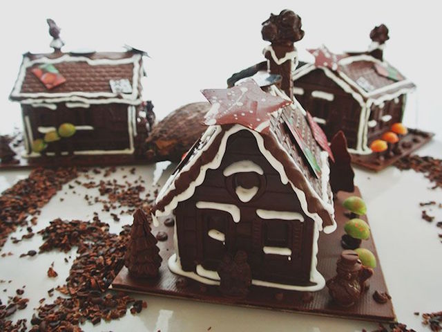 Chocolate house by Pipiltin Cocoa. Photo: Courtesy of Pipiltin Cocoa