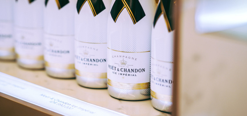 Moet and Chandon in Jakarta