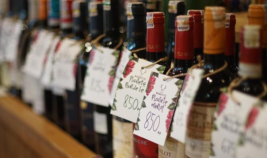 Happy Hour of the Week in Jakarta: Free flow wine at Publik Markette