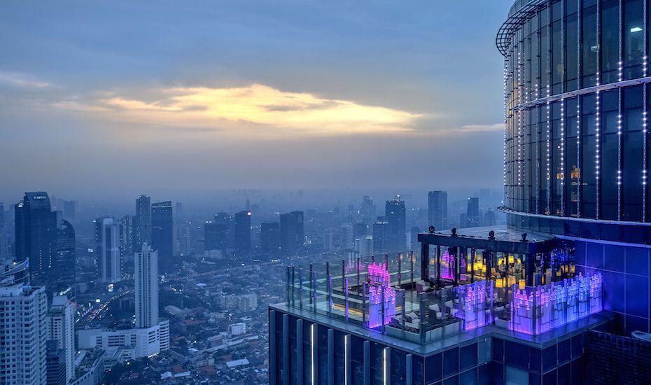 Henshin, Rooftop Bar Jakarta