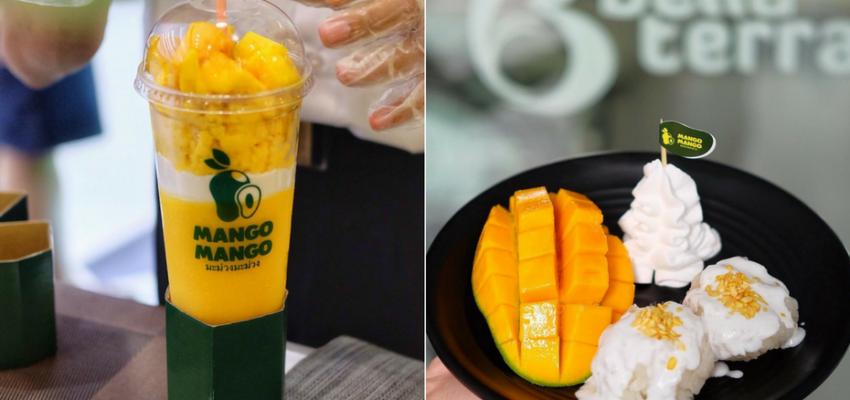 Mango Mango Juice Drink Mangga