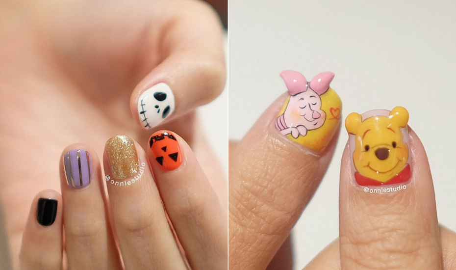 Onnie Studio Halloween Nail Art