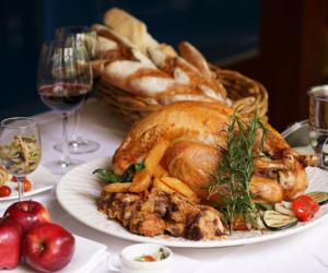 Le Meridien Thanksgiving turkey