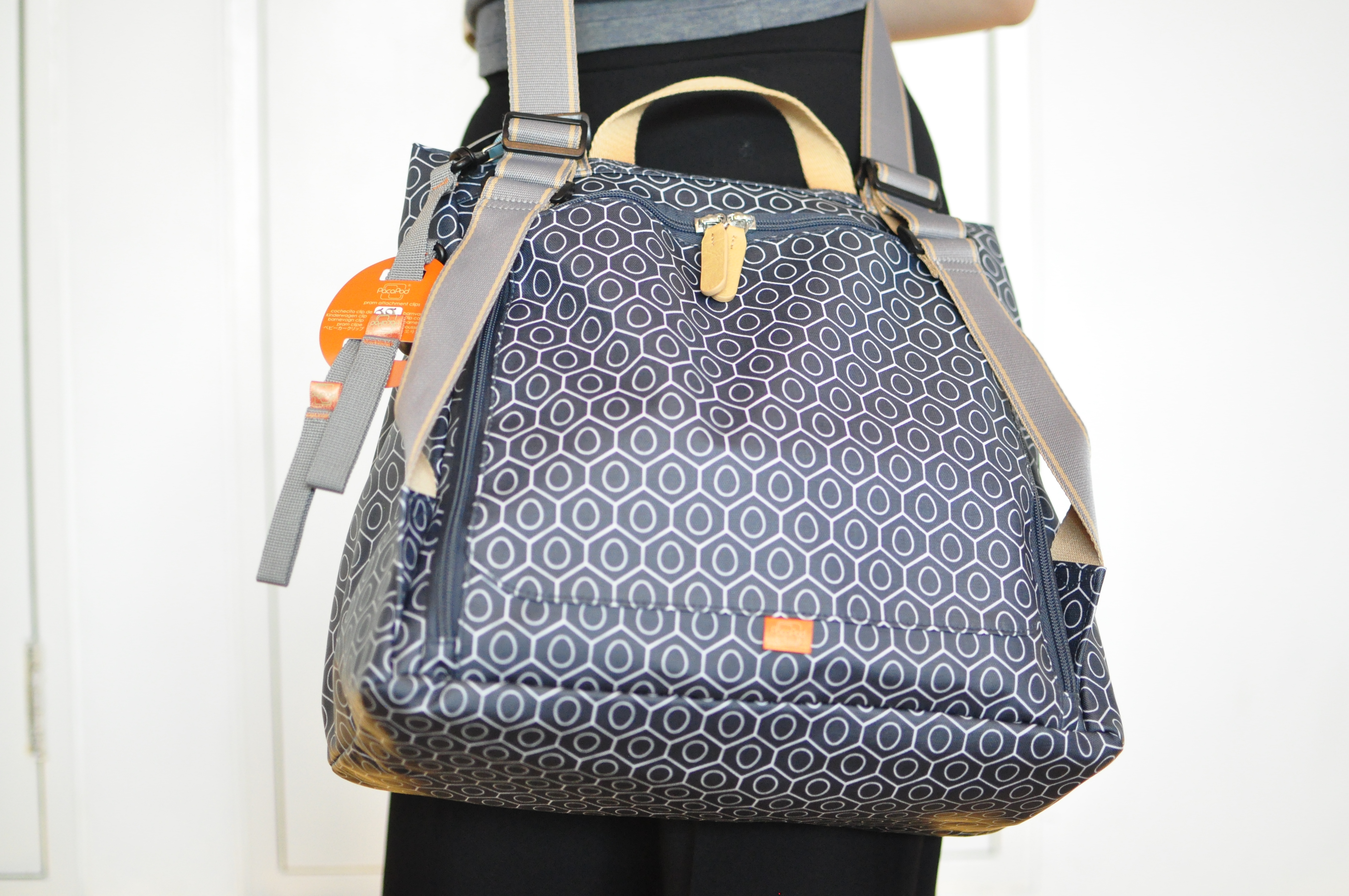 Pacapod Lewis Changing Bag Review: Store all your baby gear in this stylish and interchangeable diaper bag perfect for busy parents