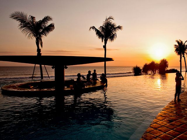 Sunset Bars in Bali