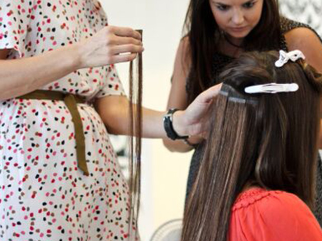 Hair Extensions In Bali Hair Salon The Honeycombers Bali