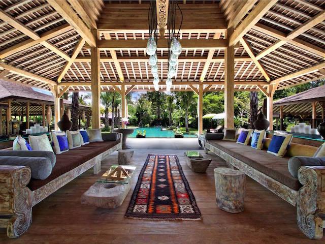 Family villas in Bali:  Villa Ethnic