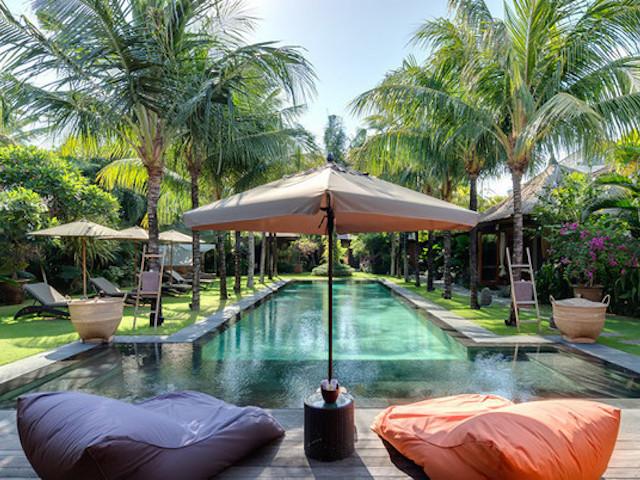 Family villas in Bali:  Shambala