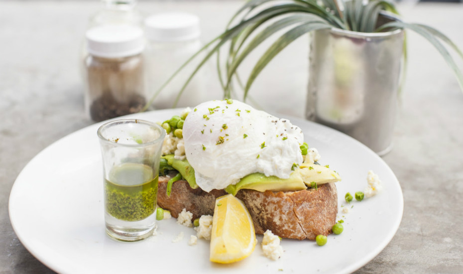 Head to hotspot Crate for Bali's now-famous breakie of eggs and garden peas