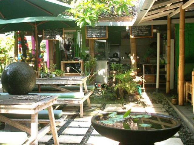 Vegan restaurants in Bali: Little Green Cafe