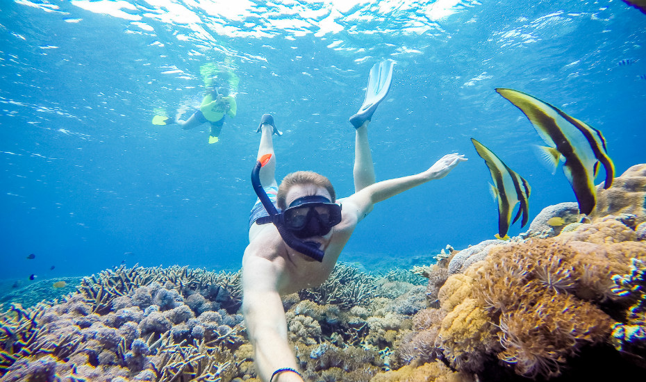 Nusa Lembongan is awesome for snorkeling