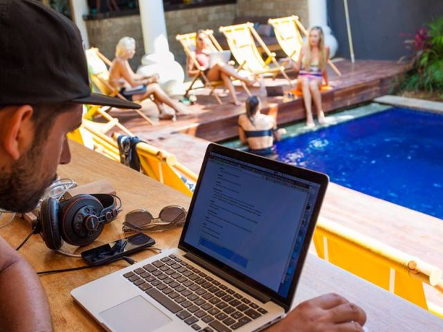 Work spaces in Bali: Salty Volt