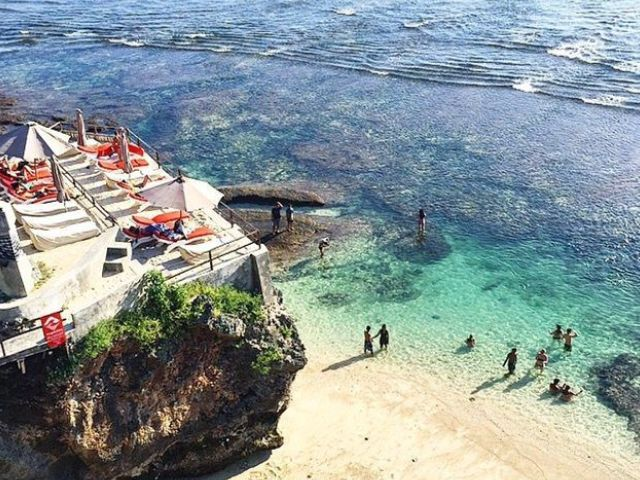 Bali's best beaches:  Suluban Beach