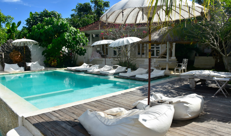 Visit Bingin Beach and stay in a gorgeous boutique hotel like Sal's Secret Spot