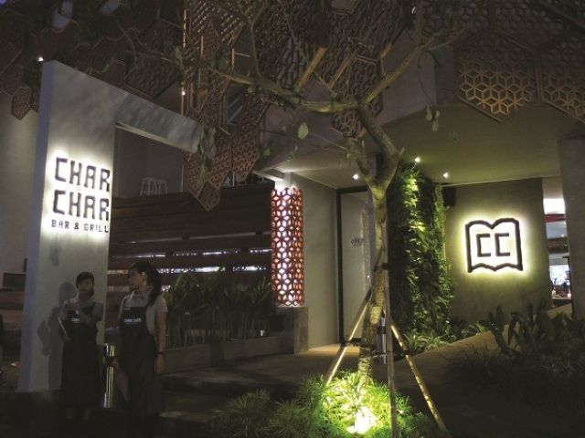 New restaurant in Bali:  Char Char