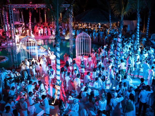 Events Festivals in Bali: Nikki Beach White Party