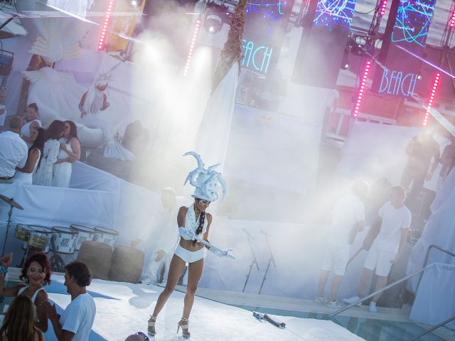 Things to do in Bali: Nikki Beach's White Party