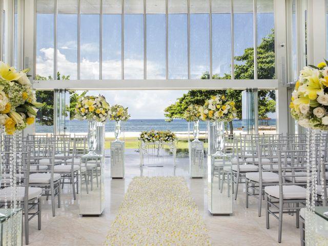 Wedding venue in Bali:  The new, elegant Jewel Box sparkles in Nusa Dua for bridal bling