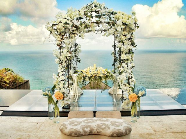 Wedding venue in Bali: The edge