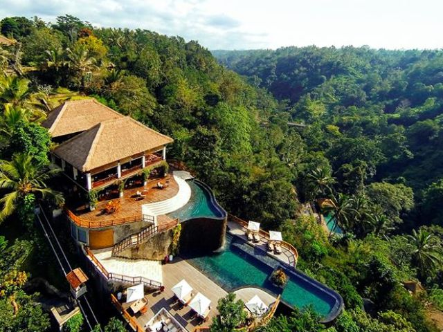 Bali's best infinity pools