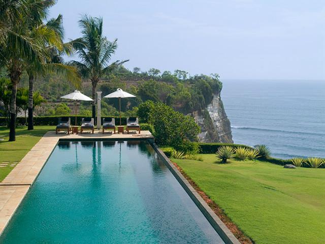 Bali's best infiniti pools