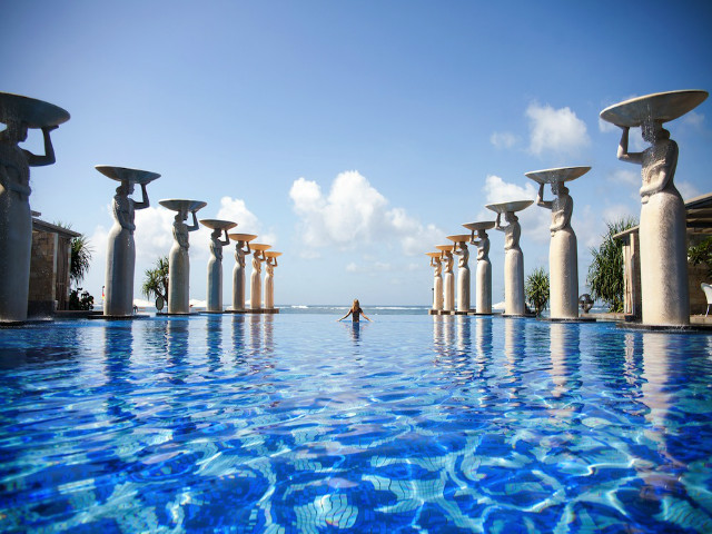 infinity pool bali. Perfect Pool And Infinity Pool Bali