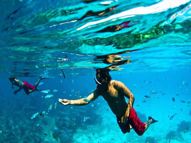 Watersports in Bali: Nusa Lembongan