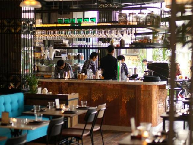 New restaurant in Seminyak: Tiger Palm