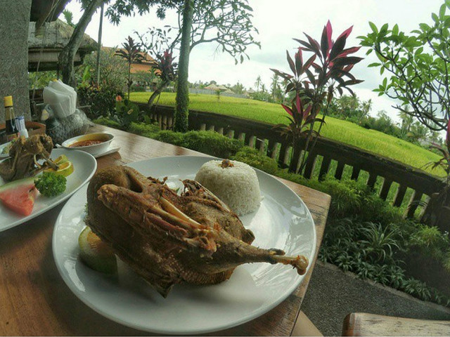 Restaurants in Ubud: Bebek Bengil