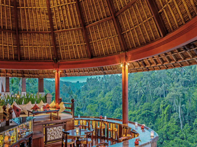 Restaurants in Ubud: CasCades
