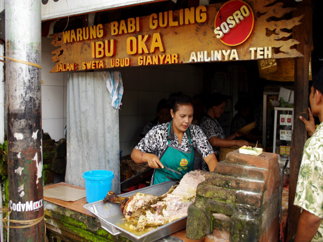 Restaurants in Ubud: Ibu Oka Warung