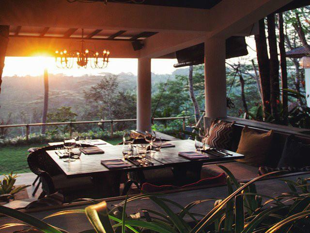 Restaurants in Ubud: The Sayan House