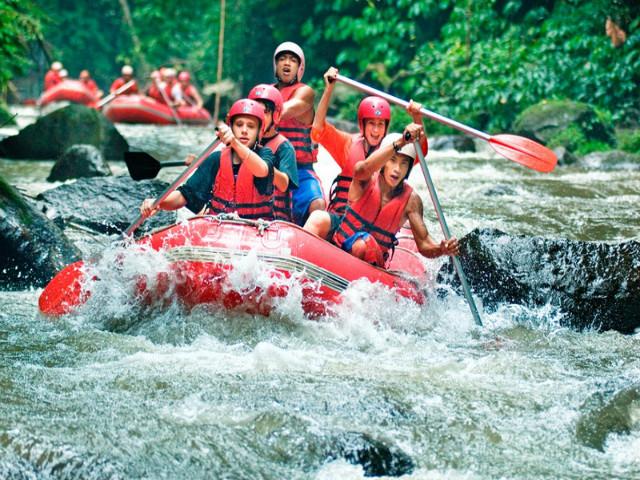 Bali Day Trips: White Water Rafting