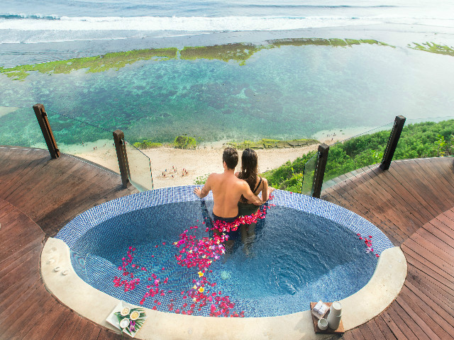 Best views in Bali: Karma Kandara