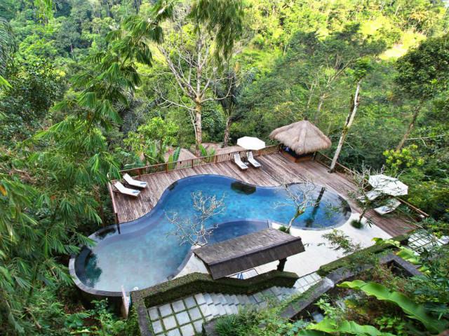 Best views in Bali: Nandini Bali Jungle Resort and Spa