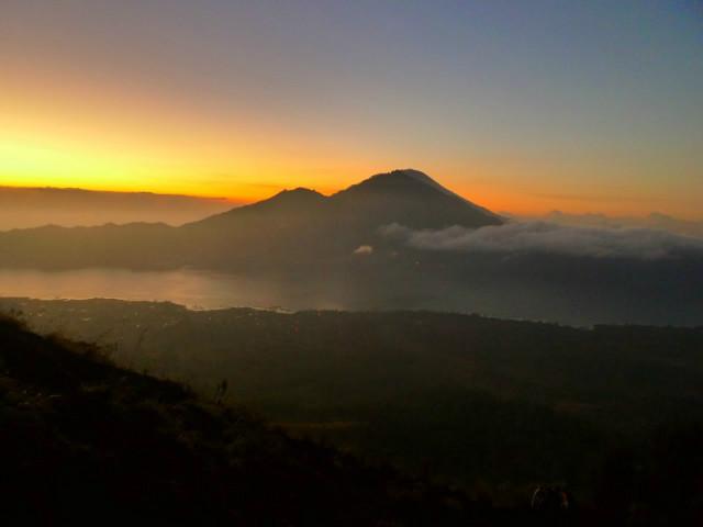 Instagram worthy places in Bali: Mount Batur Sunrise
