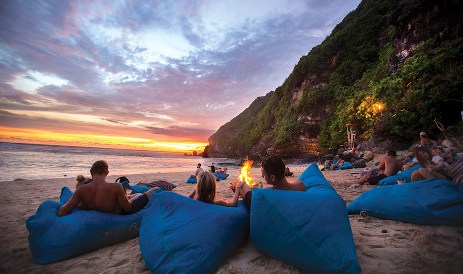 Bali beach clubs: Swim, relax, and eat at the former Finn's Beach Club in Uluwatu