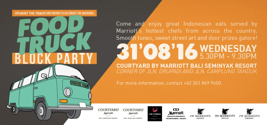 Honeycoomber - Food Truck Block Party