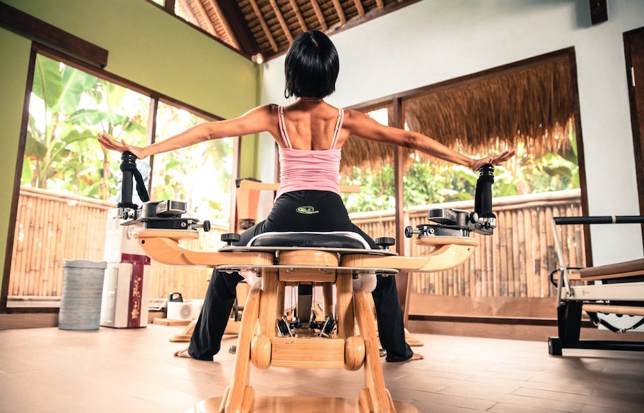 Get fit in Bali