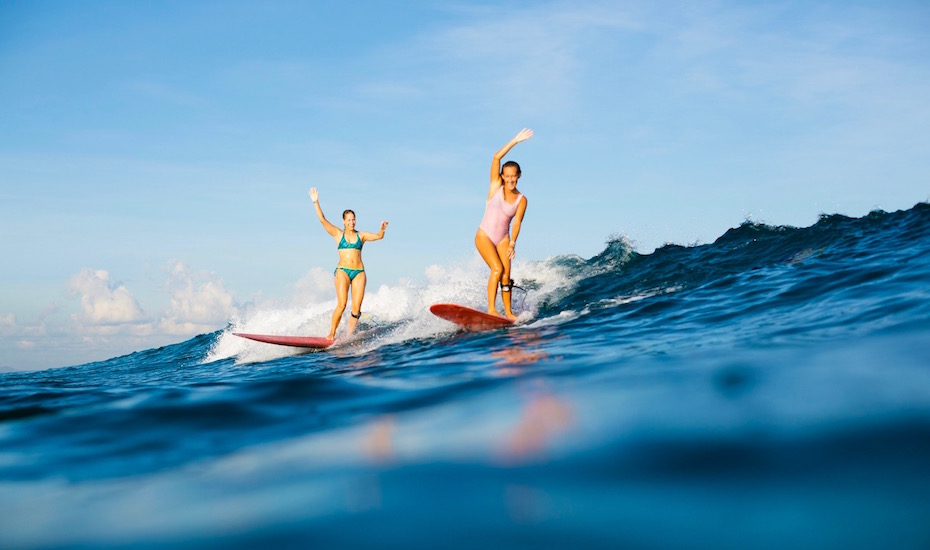 Surfing in Bali: Tips on where to surf, what Bali bikini brands to love, and why yoga should become your thang!