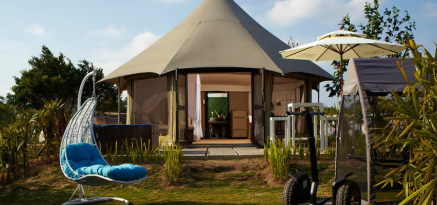 The Canopi in Bintan, just one of 10 glamping spots we've lined up for you
