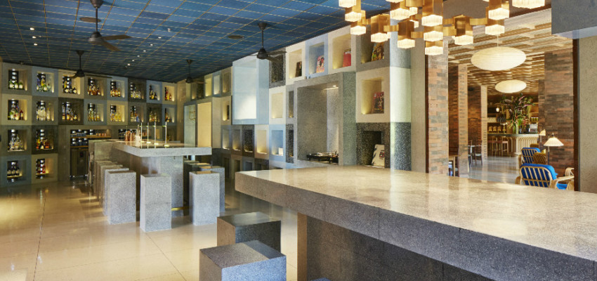 The Akademi bar certainly has the wow factor in its design