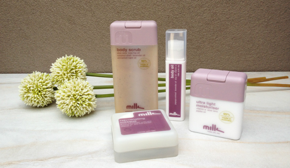 milk and co is a successful cosmetics brand. IC: Melbourne Girl