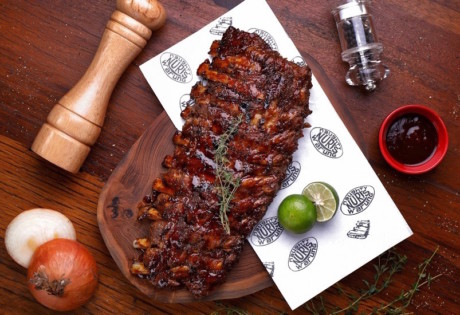 Naughty Nuri's Seminyak Bali Pork Ribs