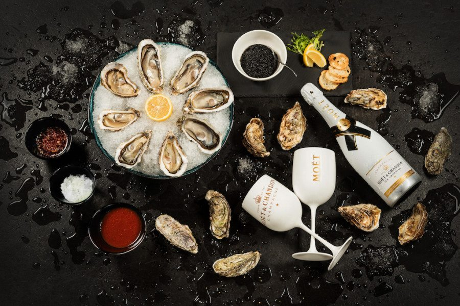 Luxury happy hours: Dragon-I launches indulgent oyster, caviar and Champagne package