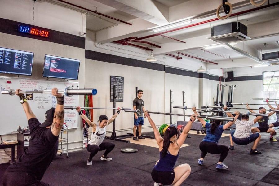 Crossfit Gym Photography CrossFit Hong Kong: Th...