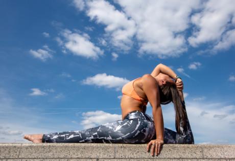 Hong Kong workout pros Jessica Lee