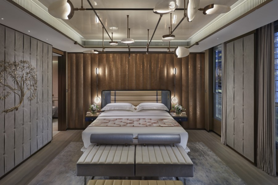 Hong Kong hotels: The Landmark Mandarin Oriental in Central unveils its new Entertainment Suite featuring design by Joyce Wang