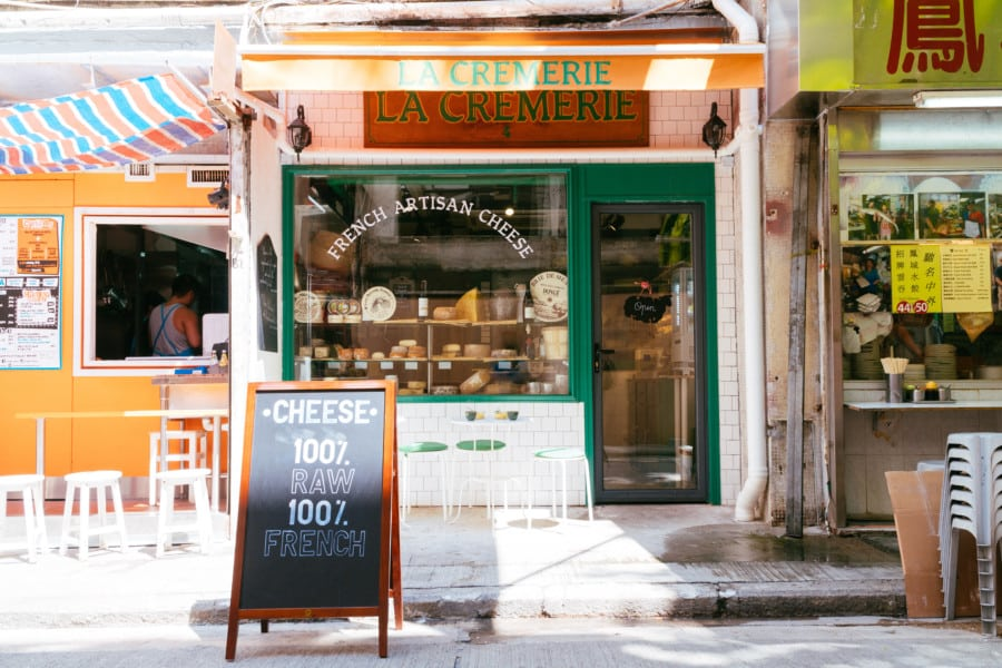 Food news Hong Kong: LA CREMERIE in Wan Chai opens selling French cheese, sour cream, butter and more