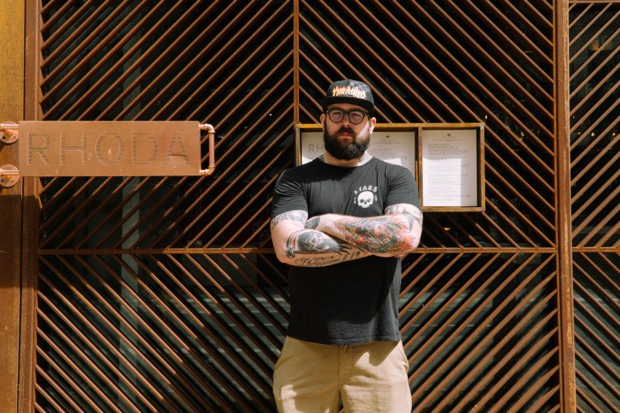 Interview with Nate Green: We discuss the myth of organics, sustainability in restaurants and the monthly Whole Hog event with the chef of Rhoda